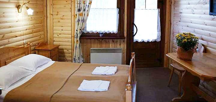От 2 дней отдыха с завтраками и сауной в комплексе «Княжий Двор» в отеле «Сруб»