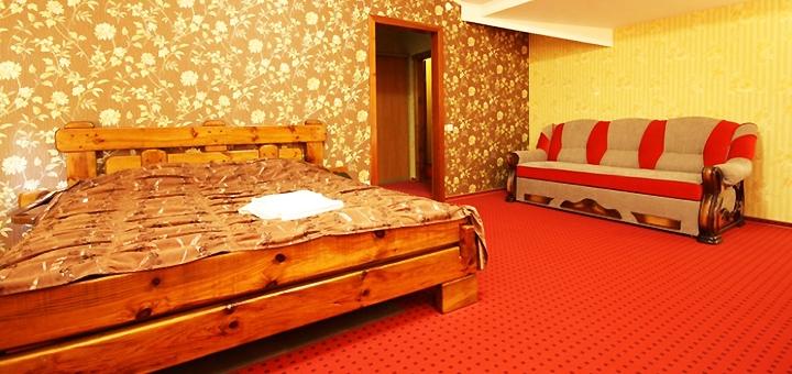 Новогодняя ночь с завтраком в отеле «Chagari Hotel» возле Львова