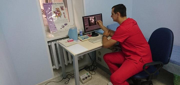 Урологическое обследование с УЗИ в кабинете уролога на Гагарина