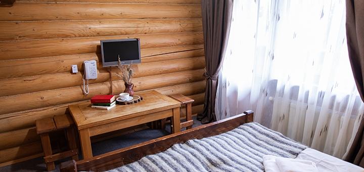 От 3 дней отдыха в феврале с питанием и SPA в отельном комплексе «Карпаты» в Мигово