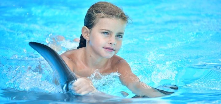 Скидка до 42% на занятия по программе «Юный тренер» в дельфинарии «Немо»