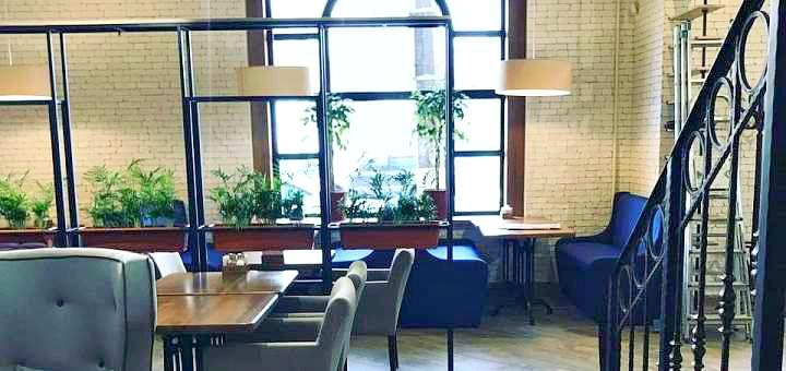 Скидка 40% на все меню кухни и 30% на самовывоз в сети кафе «Паштет»