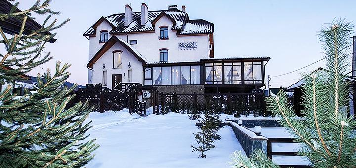 От 3 дней отдыха в январе с трехразовым питанием и сауной в отеле «Villa Grand» в Сходнице