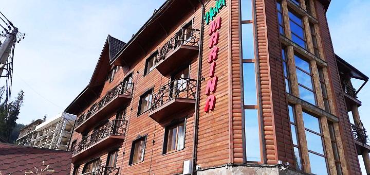 От 2 дней отдыха зимой и весной с завтраками в отеле «Марина» в Буковеле