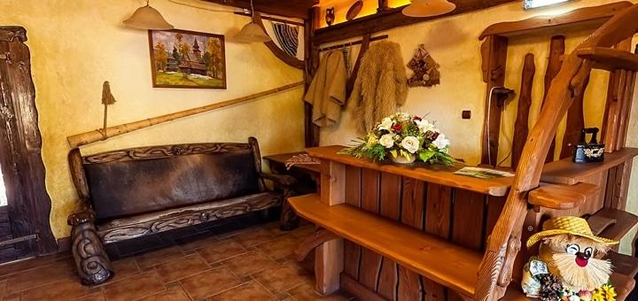 От 3 дней отдыха зимой с двухразовым питанием в отеле «Газдівська хижа» на курорте Пилипец