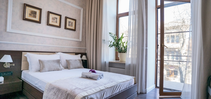 От 2 дней отдыха в феврале с завтраками в отеле «Sinfonia del Mare» в Одессе