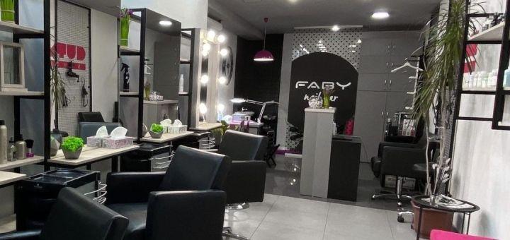 Женская стрижка с укладкой волос в салоне красоты «Cutroom Studio»