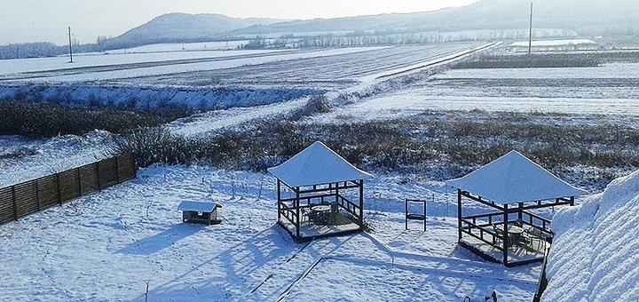 От 2 дней отдыха зимой в отеле «Край Неба» возле термальных источников в Берегово