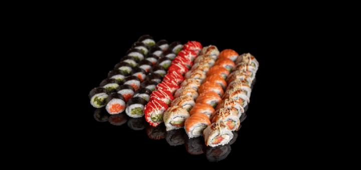 Скидка 50% на сет «№8» от доставки суши «Dino Sushi»