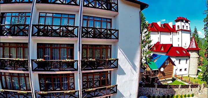 От 3 дней зимнего отдыха All-inclusive в отеле «Gorgany Hotel & Spa» в Карпатах