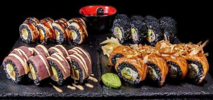 Скидка 40% на все меню суши от службы доставки «SushiChan»