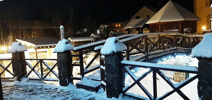От 2 дней зимнего отдыха с питанием в коттедже «Колыба Колорит» в Татарове