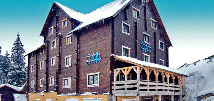От 3 дней отдыха с питанием в отеле «Дан» в Драгобрате