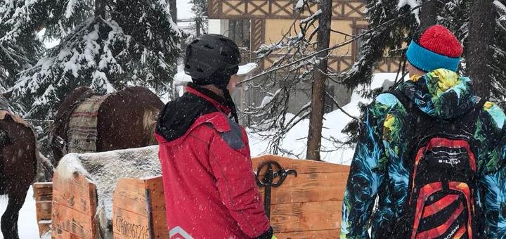 Горнолыжный тур в Славское с питанием, проживанием и трансфером на поезде от «Buli-Tour»