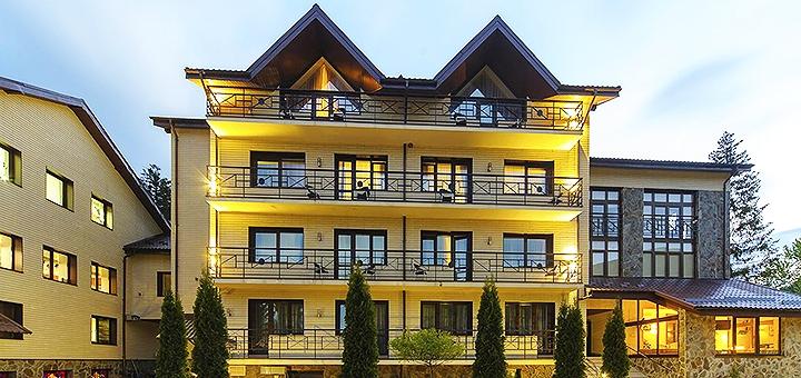 От 5 дней SPA-отдыха c питанием и пакетом услуг в отеле «Reikartz Карпаты» в Закарпатье