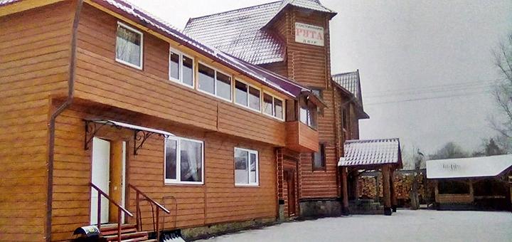 От 3 дней зимнего горнолыжного отдыха с питанием в эко-комплексе «Рута» под Буковелем