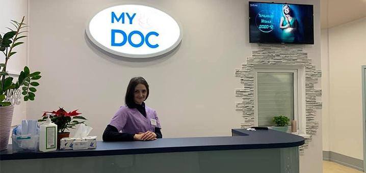 Комплексное обследование у гинеколога в медицинском центре «MyDOC»
