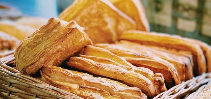Скидка 50% на всё меню выпечки, чай и кофе в сети пекарен «Перша Пекарня Твого Міста»
