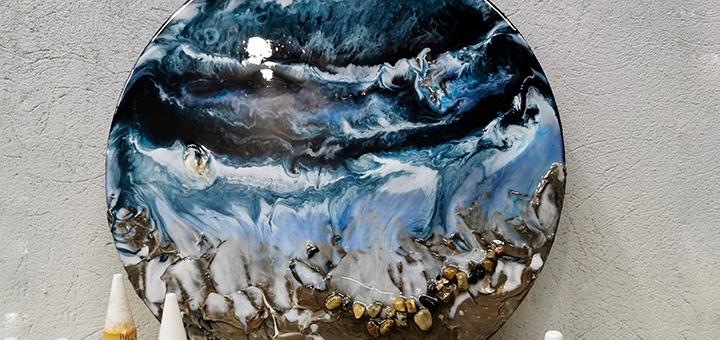 Арт-бокс для создания картин из эпоксидной смолы от студии «Art Perfect»