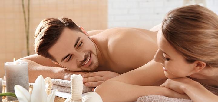 Уникальный мастер-класс для пары по массажу и SPA-уходу с сауной в «BODY health»