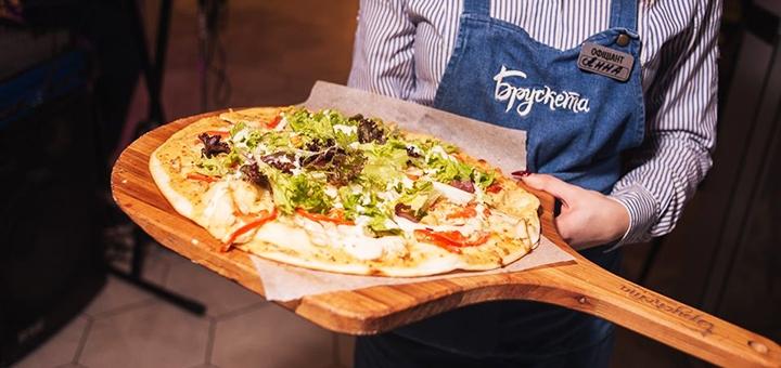 Скидка 40% на меню кухни в ресторане «Брускета»
