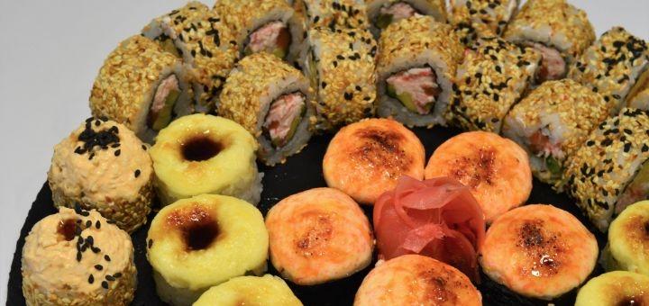 Скидка 50% на суши-сет «Кентуки» от магазина-ресторана японской кухни «Суши WOK»