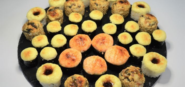 Скидка 50% на суши-сет «Гриль хит» от магазина-ресторана японской кухни «Суши WOK»