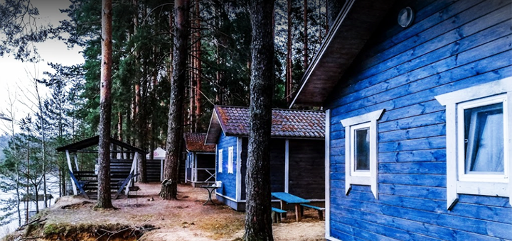 От 3 дней отдыха весной в эко-комплексе «Голубые озера» в Черниговской области