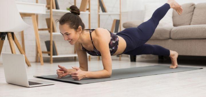 До 5 персональных онлайн-тренировок по фитнесу от женской онлайн фитнес-студии «Воздух»