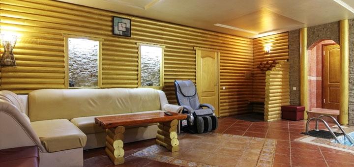 До 3 часов посещения римской или финской парной в сауне «Диамант» в будние дни