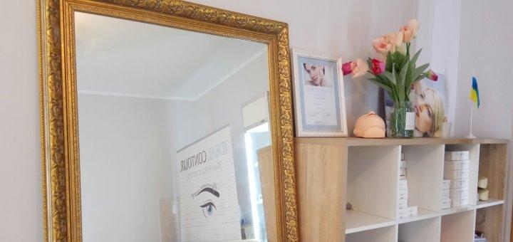 Перманентный макияж межресничного пространства и стрелки в центре «Идеальный контур»
