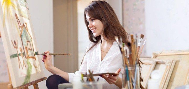 Раскройте в себе гениального художника! Напишите свою картину маслом или акварелью за 3 часа в «Art-Psy Club»!