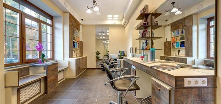 Стрижка, укладка и окрашивание волос в салоне красоты «Dali Deluxe»