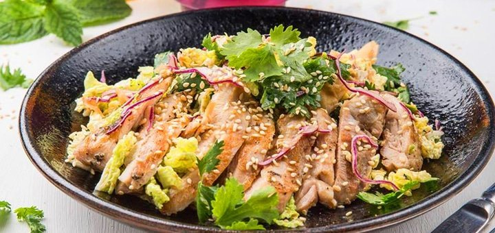 Скидка 30% на все меню кухни и бар в лаундж-баре «Фиджи»!