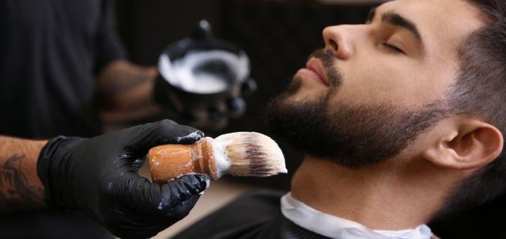 Стрижка, укладка, коррекция бороды, королевское бритье от барбера в барбершопе «Mr.Colt»
