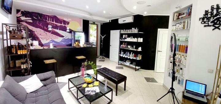 Женская стрижка с укладкой волос в салоне красоты премиум-класса «Image Kitchen»
