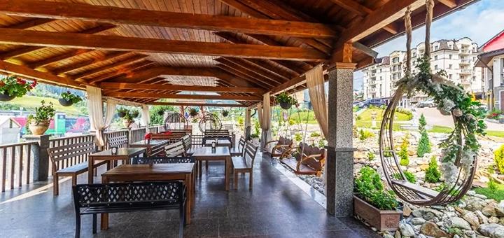 От 3 дней отдыха с завтраками «шведская линия» и SPA в отеле «Mardan Palace 4*» в Буковеле