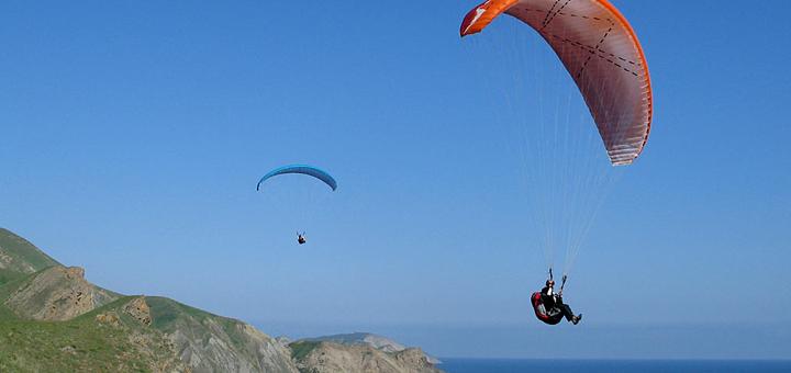 Скидка до 25% на полет на параплане от экстрим-клуба «Sky Club»