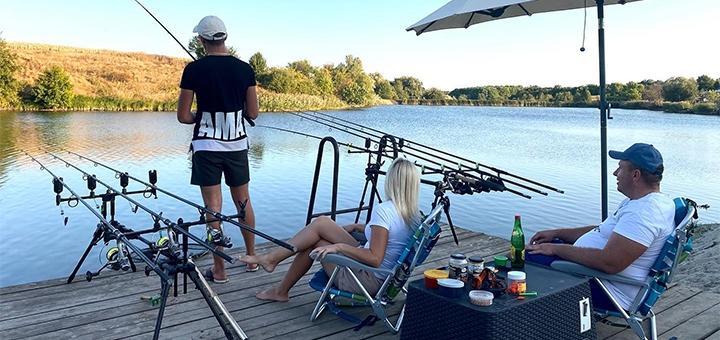 1 день отдыха с завтраками, рыбалкой и конными прогулками в комплексе «Balka Eco Club»