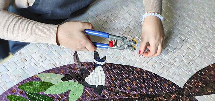 Мастер-класс по декорированию мозаикой от студии «Almart»