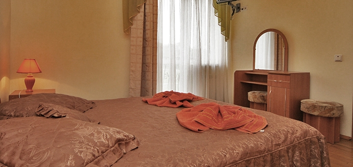 От 3 дней отдыха для двоих в отеле «Виан» в Трускавце рядом с бюветом минеральных вод