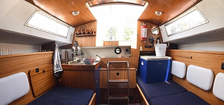 Скидка 32% на трехчасовую прогулку на яхте под парусами от яхтенного клуба «Yacht Fun»