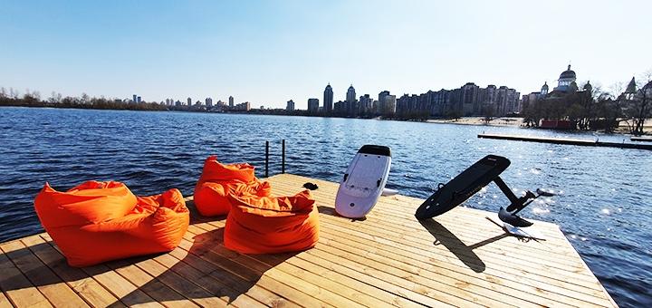 Скидка 30% на прокат электрофойла с обучением от центра «Volna Surf»