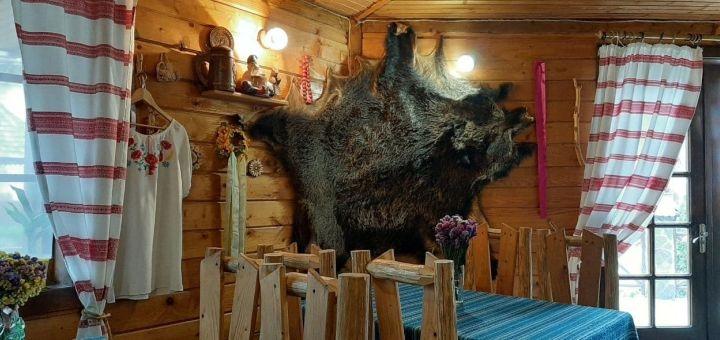 От 2 дней отдыха в мае с завтраками и посещением бассейна в коттедже «Wood house» в Татарове