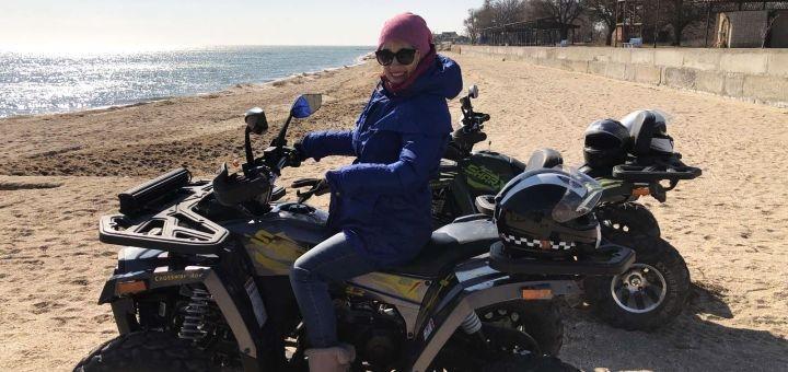 1 час проката квадроциклов от компании «Квадроциклы Бердянск»