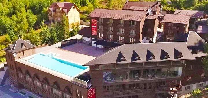 От 3 дней весеннего отдыха с бассейном и завтраками в отеле «Гора» в Буковеле