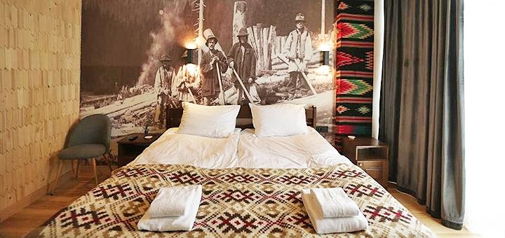 От 3 дней отдыха с бассейном и завтраками в отеле «Гора» в Буковеле