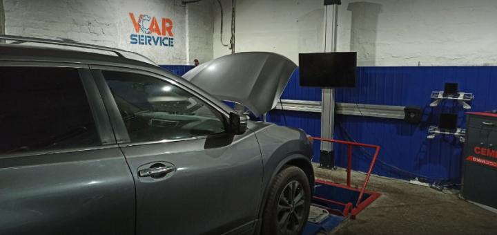 Развал-схождение колес для любого авто на СТО «VCar service»