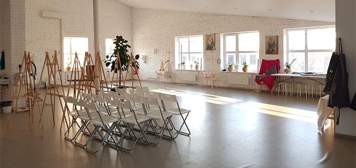 Мастер-класс по живописи от художественной школы «Irpen Art School»