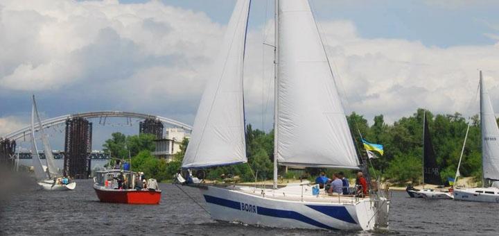 Скидка до 37% на прогулку для компании до 8 человек на парусной яхте «Воля»